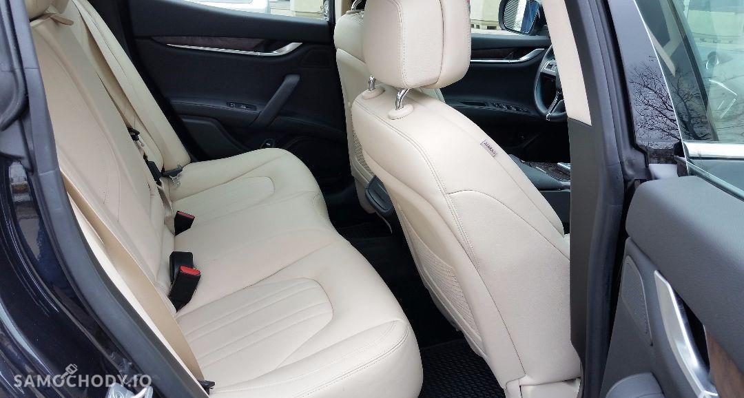 Maserati Ghibli Ghibli Q4, 3.0 Turbo, 4x4, Najbogatsza wersja. Gwarancja techniczna 92