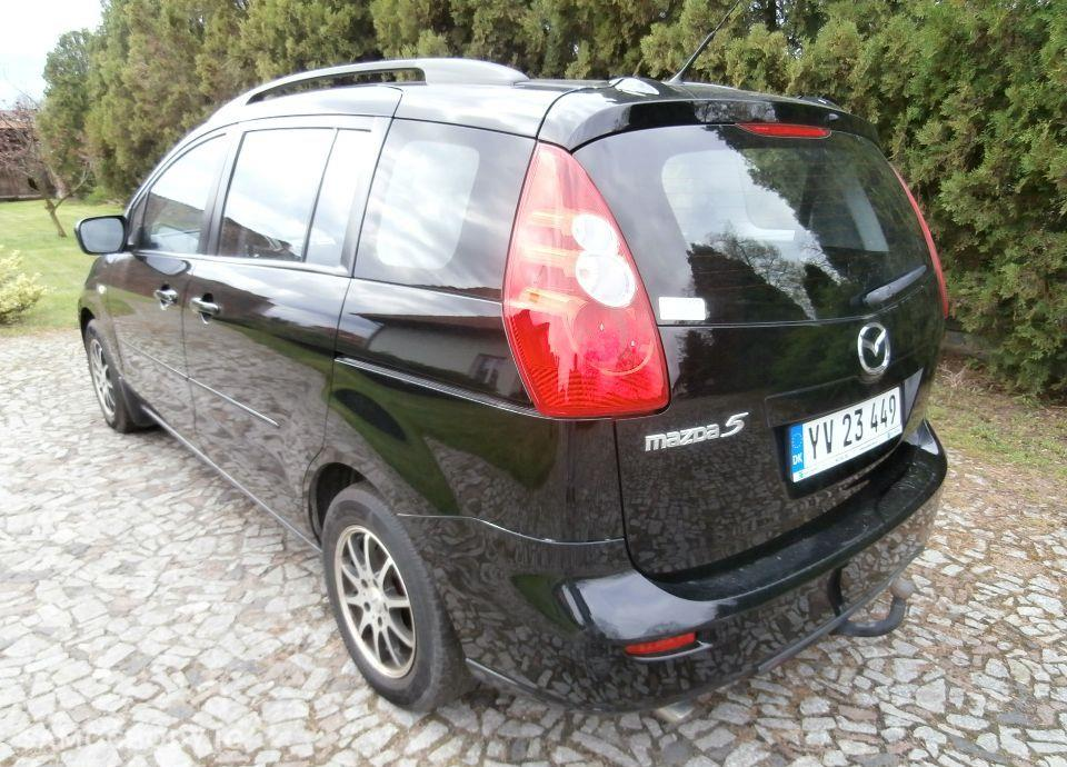 Mazda 5 1.8 16V 116 KM Po Opłatach GWARANCJA Ks.Serwis BEZWYPADKOWY Zamiana 4