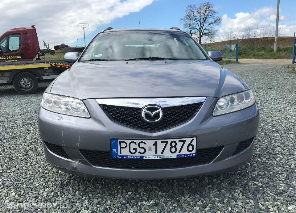 Mazda 6 1,8 Benzyna 120 KM Klima Alu CD Zarejestrowana Zobacz !!! 2