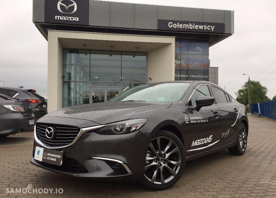 Mazda 6 *benzyna*165KM*manual*SkyPASSION*SALON*pl*GOŁEMBIEWSCY*NOWY*model*GL 1