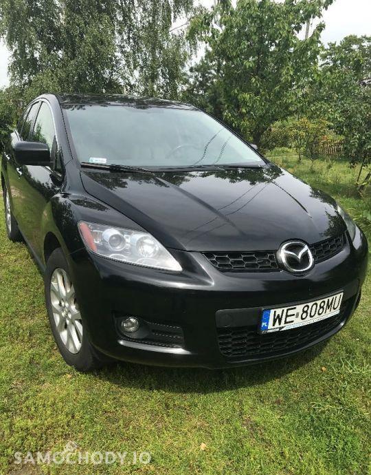 Mazda CX-7 2.3T LPG 258KM, 4x4, jasna skóra, bezwypadkowy, udok. przebieg. 2
