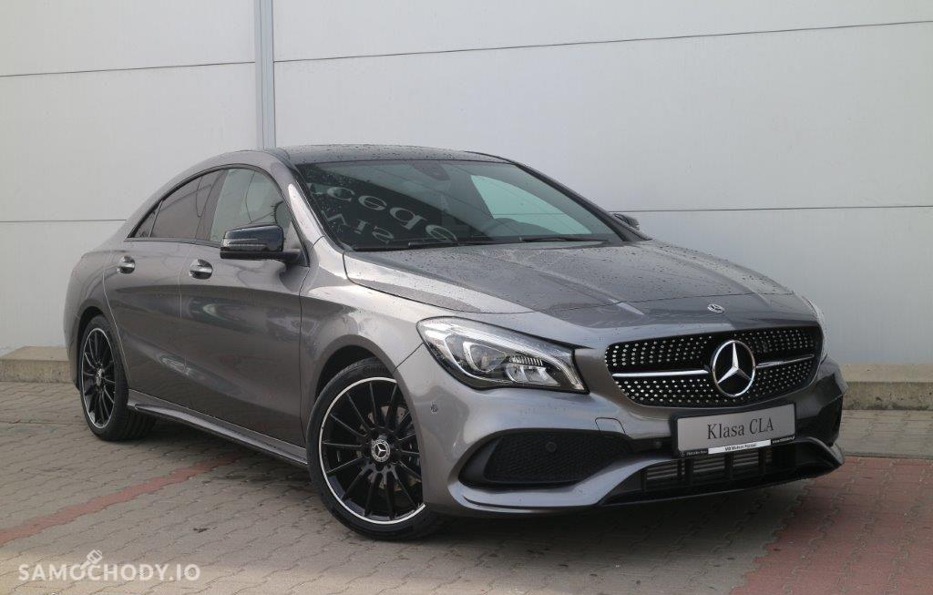 Mercedes-Benz CLA Pakiet AMG, panorama, szary, model 2017!!! 1