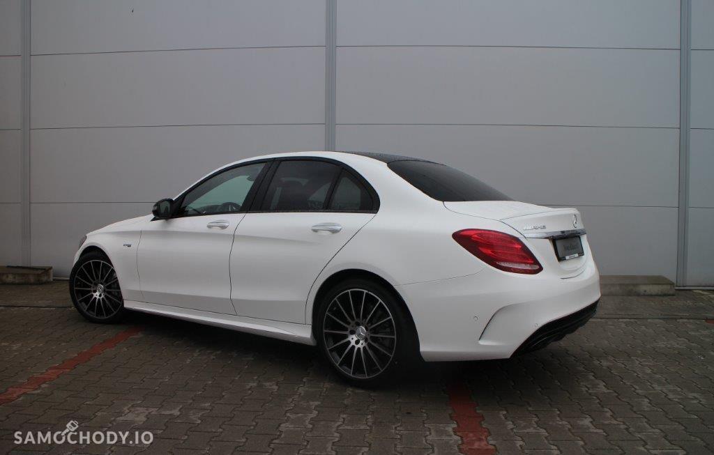 Mercedes-Benz Klasa C C43, Biała, 367KM!!! 11