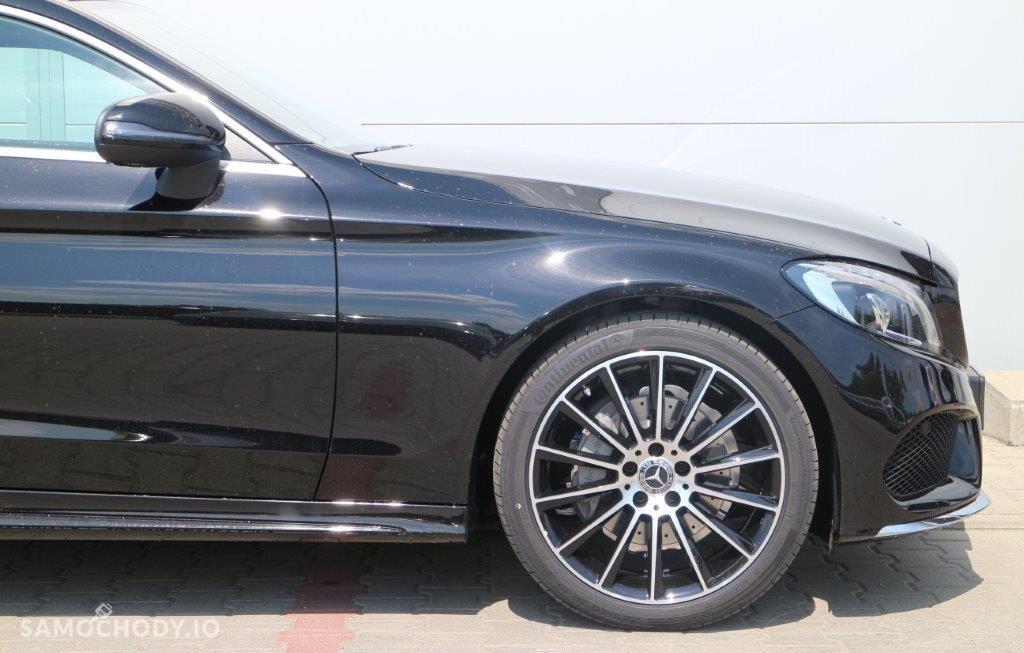 Mercedes-Benz Klasa C Pakiet AMG, 4Matic, czarny, model 2017!!! 4