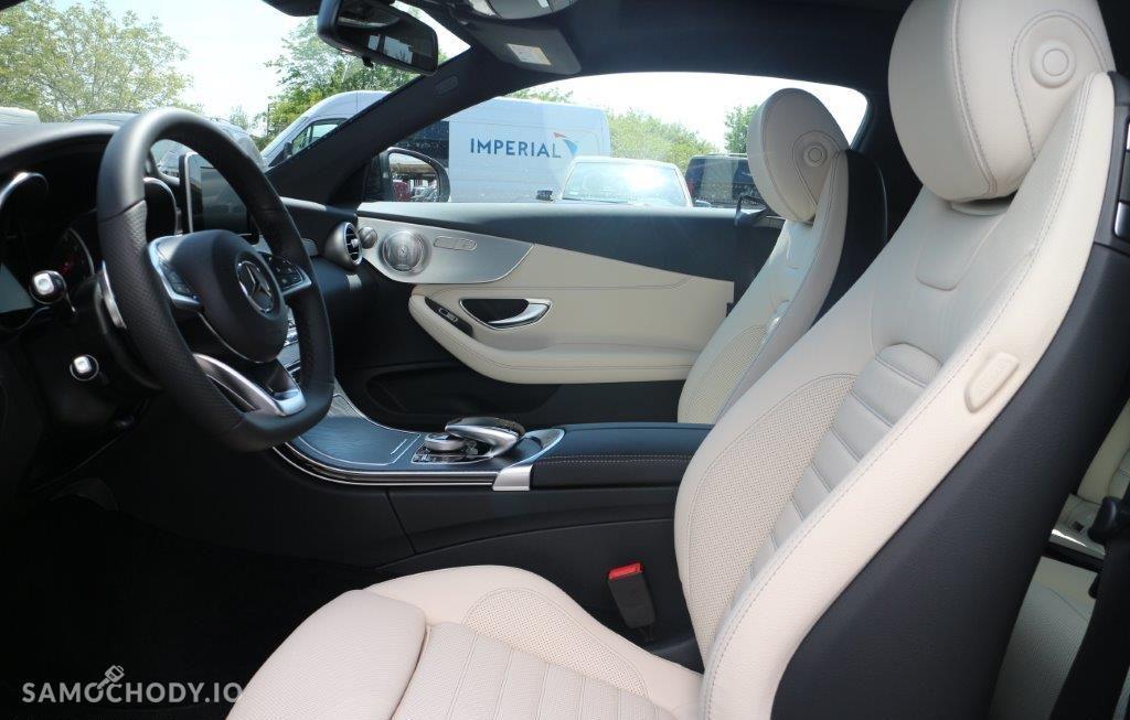 Mercedes-Benz Klasa C Pakiet AMG, 4Matic, czarny, model 2017!!! 16