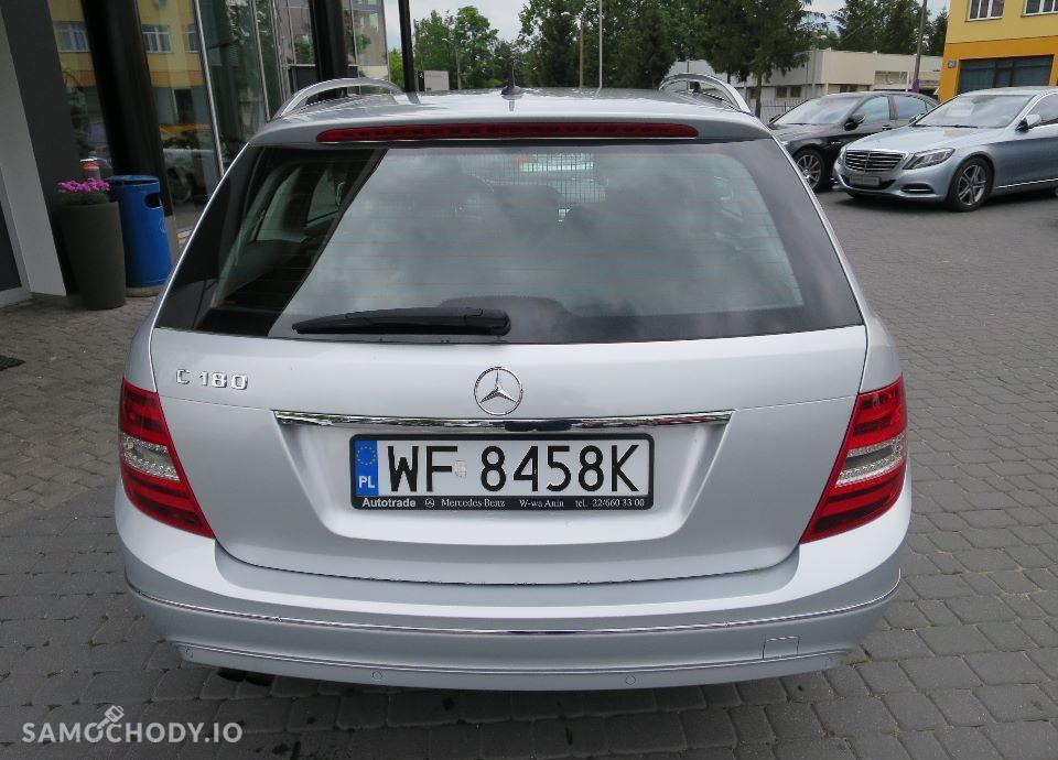 Mercedes-Benz Klasa C 180 CGI Salon PL F 23% Avantgarde 2011 Lift Okazja 7