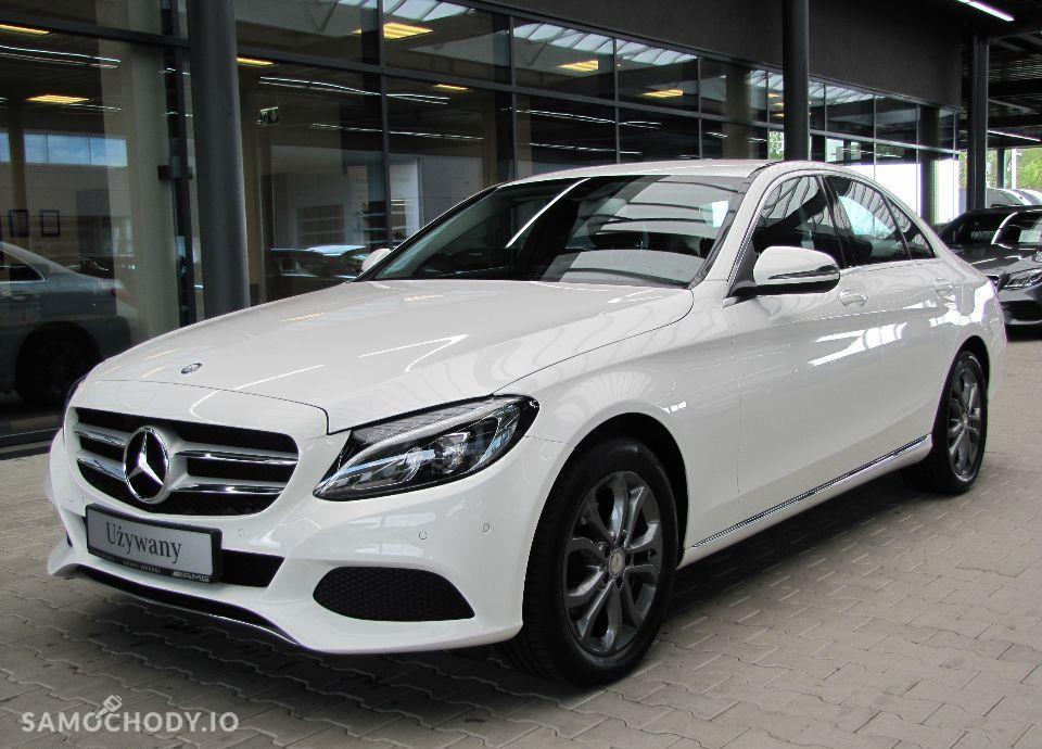 Mercedes-Benz Klasa C Salon PL, FV23%, Navi, Parktronic, Automat 1