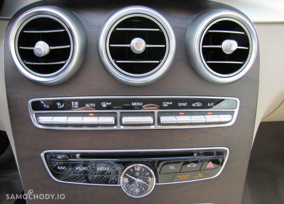 Mercedes-Benz Klasa C C180 AMG, Navi Burmester, Kamera, Lampy LED, Salon Polska 56