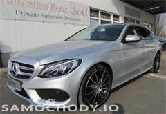 mercedes benz klasa c z województwa dolnośląskie Mercedes-Benz Klasa C C180 AMG, Navi Burmester, Kamera, Lampy LED, Salon Polska