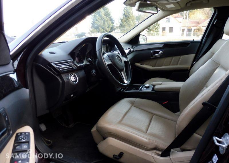 Mercedes-Benz Klasa E 350 CDI 265 KM 4matic Avangarde/ Salon PL/ ASO/ I wł/ Dealer 22