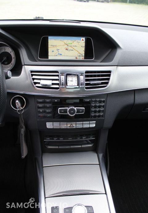 Mercedes-Benz Klasa E w212 AVANGARDE lift 2013 ils automat 2.2cdi bezwypadkowy 79