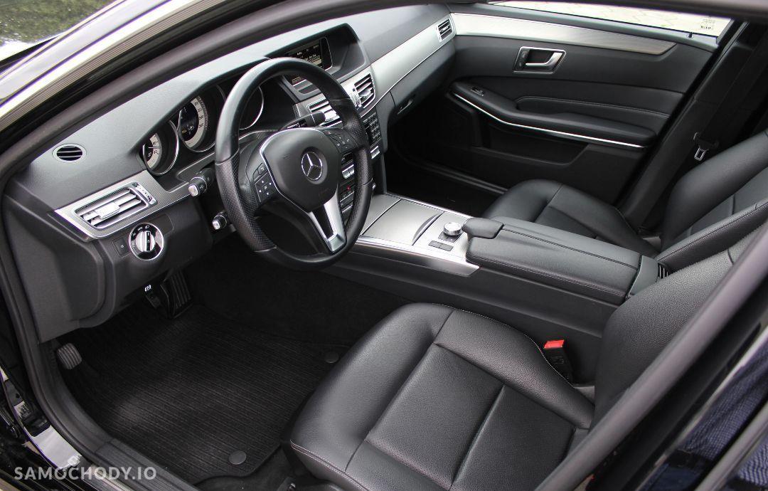 Mercedes-Benz Klasa E w212 AVANGARDE lift 2013 ils automat 2.2cdi bezwypadkowy 56