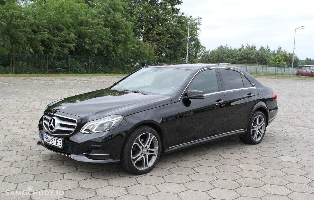 Mercedes-Benz Klasa E w212 AVANGARDE lift 2013 ils automat 2.2cdi bezwypadkowy 2