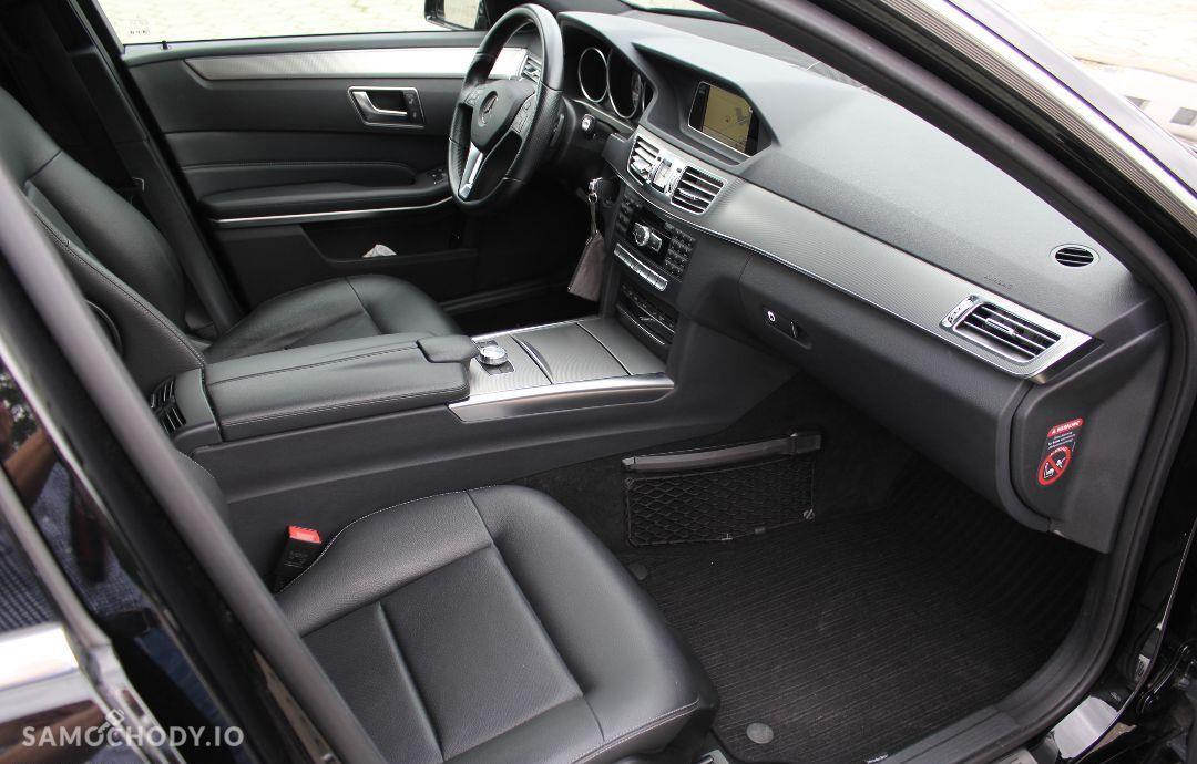 Mercedes-Benz Klasa E w212 AVANGARDE lift 2013 ils automat 2.2cdi bezwypadkowy 106