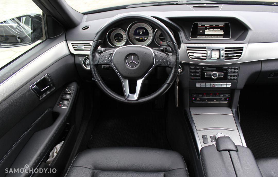 Mercedes-Benz Klasa E w212 AVANGARDE lift 2013 ils automat 2.2cdi bezwypadkowy 46