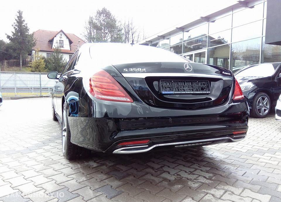 Mercedes-Benz Klasa S S350d 4MATIC Long pakiet AMG/Exclusive/Keyless/ILS Demonstracyjny 79