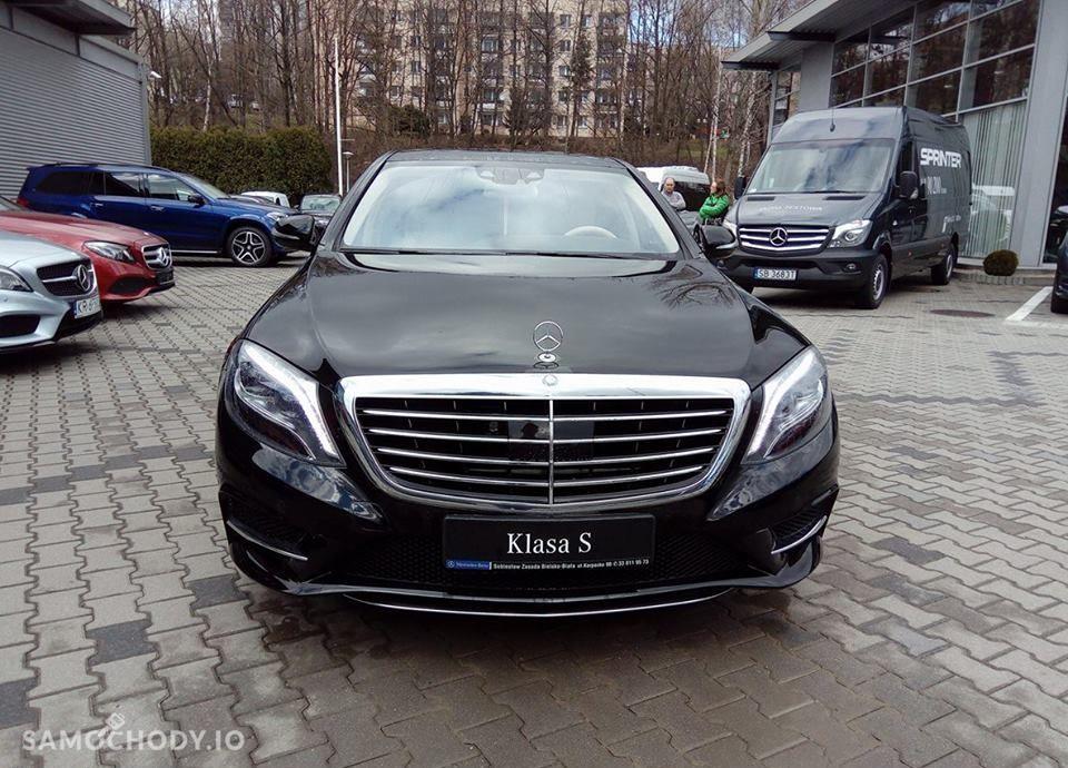 Mercedes-Benz Klasa S S350d 4MATIC Long pakiet AMG/Exclusive/Keyless/ILS Demonstracyjny 2