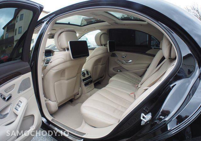 Mercedes-Benz Klasa S S63 AMG pakiet stylizacji,Modell 2017,Night View,Burmester,360°kamery 29
