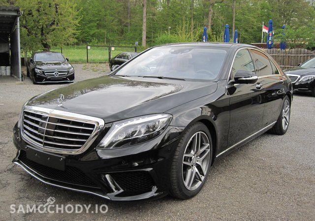 Mercedes-Benz Klasa S S63 AMG pakiet stylizacji,Modell 2017,Night View,Burmester,360°kamery 1