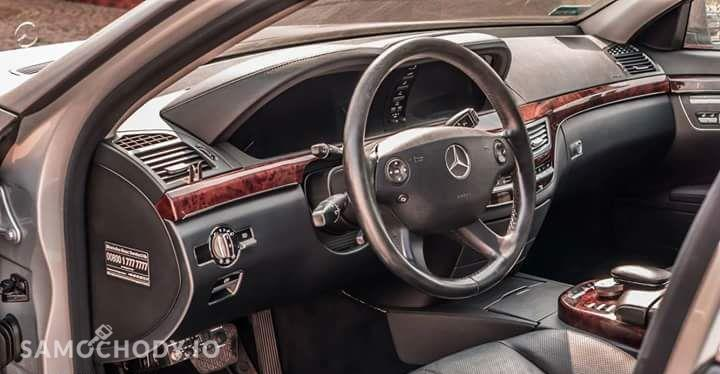 Mercedes-Benz Klasa S 500 LONG, LPG !! , Szary mat ! LIFT 16