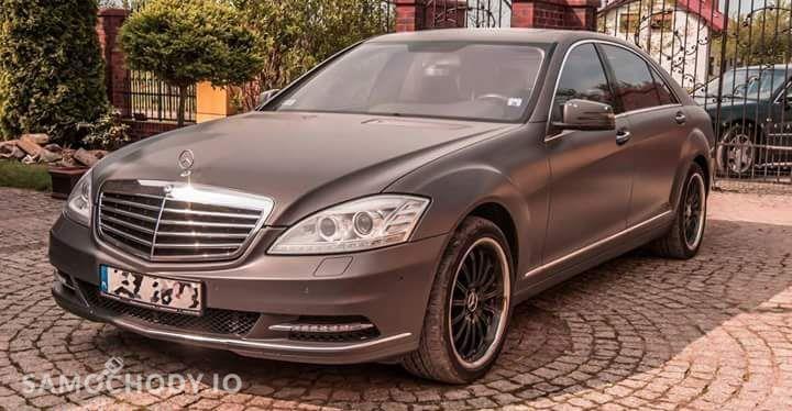 Mercedes-Benz Klasa S 500 LONG, LPG !! , Szary mat ! LIFT 1