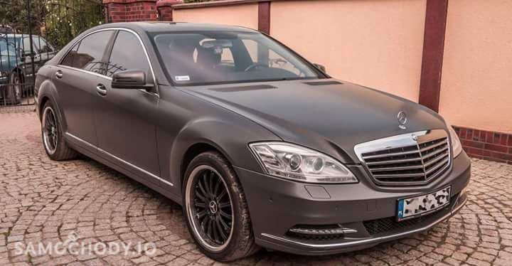 Mercedes-Benz Klasa S 500 LONG, LPG !! , Szary mat ! LIFT 4