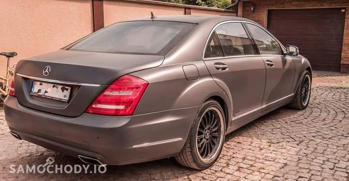 Mercedes-Benz Klasa S 500 LONG, LPG !! , Szary mat ! LIFT 2
