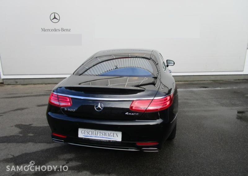 Mercedes-Benz Klasa S 500 4MATIC Coupe KEYLESS/Head Up/Kamera 360/Burmester/FV23% 4
