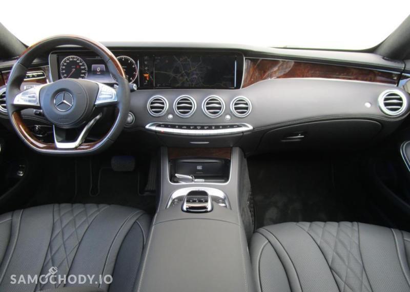 Mercedes-Benz Klasa S 500 4MATIC Coupe KEYLESS/Head Up/Kamera 360/Burmester/FV23% 22