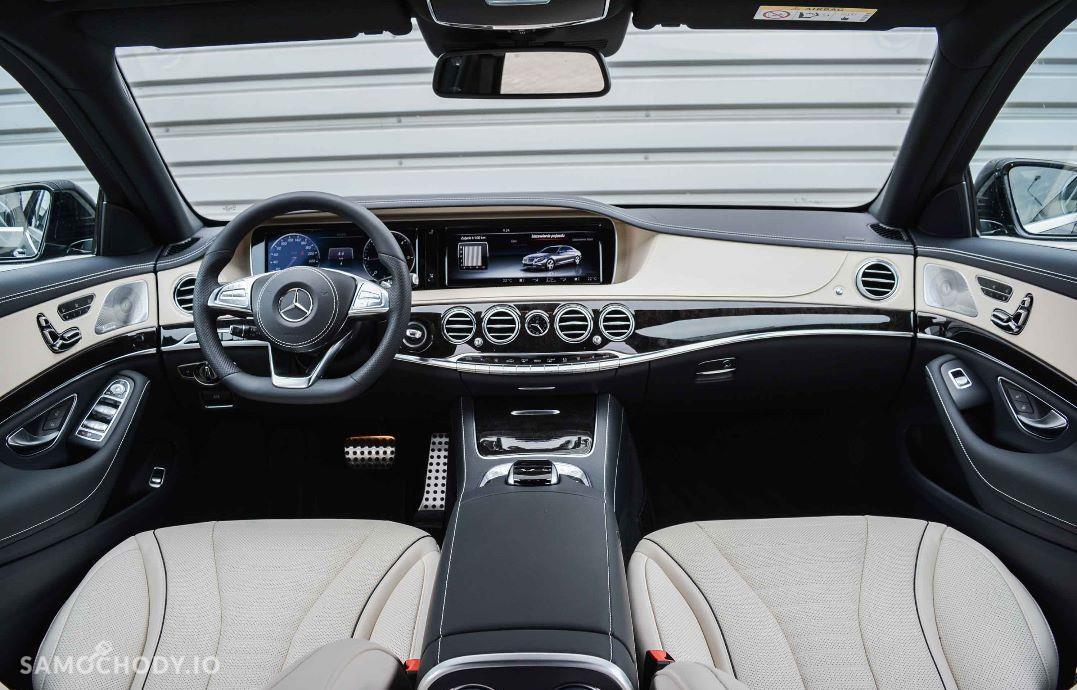 Mercedes-Benz Klasa S S 350d 4Matic L stylizacja AMG rocznik 2017 UPUST 20% 7