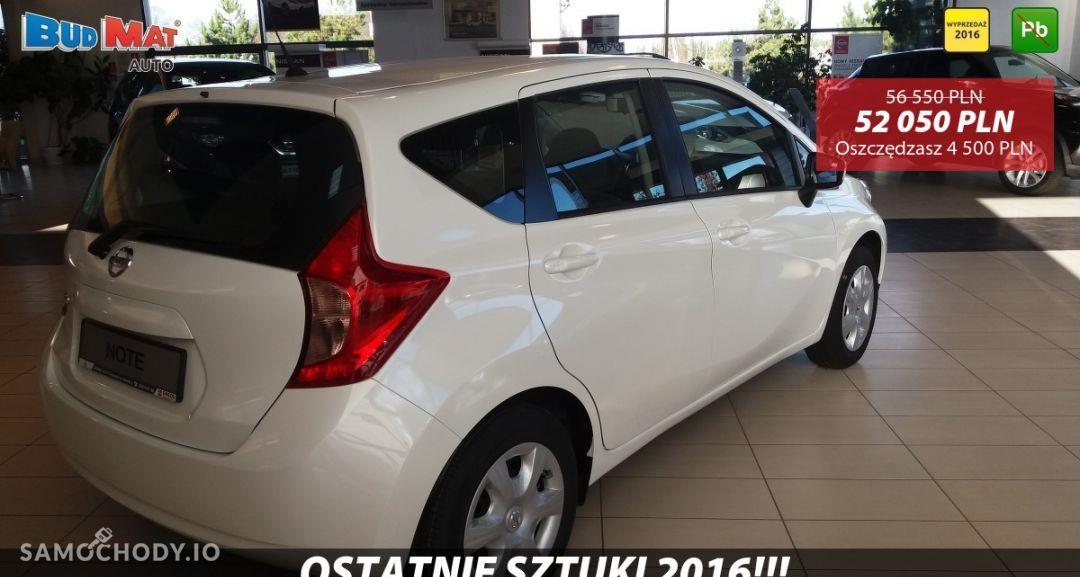 Nissan Note ACENTA 1.2 80KM + Pakiet Auto + Koło zapasowe Biała Perła 2016 22