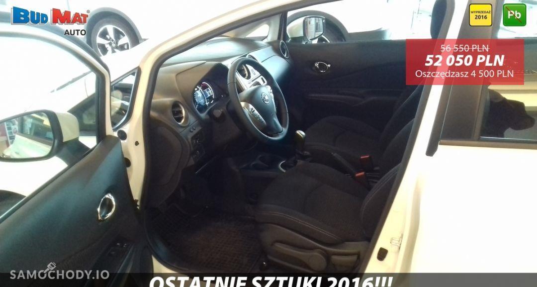Nissan Note ACENTA 1.2 80KM + Pakiet Auto + Koło zapasowe Biała Perła 2016 7