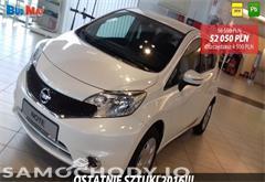 nissan z województwa mazowieckie Nissan Note ACENTA 1.2 80KM + Pakiet Auto + Koło zapasowe Biała Perła 2016