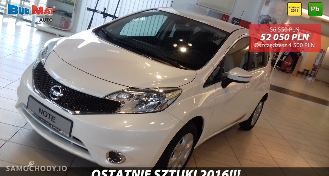 Nissan Note ACENTA 1.2 80KM + Pakiet Auto + Koło zapasowe Biała Perła 2016 1