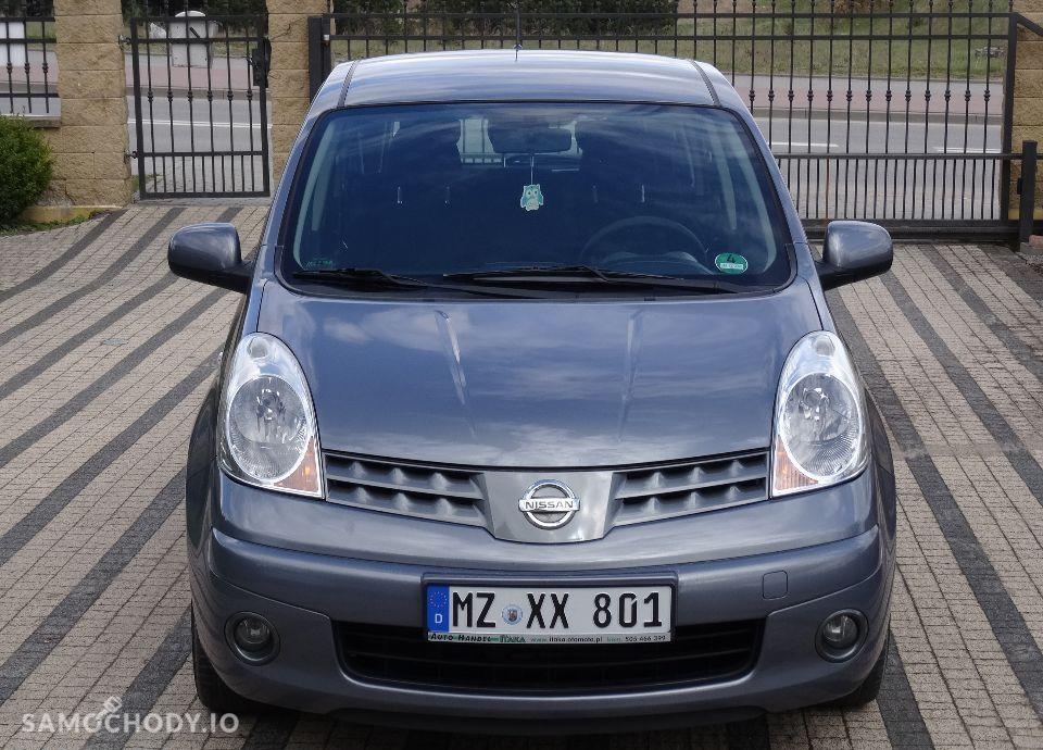 Nissan Note 1.5DCI 86KM Klima Serwis Bezwypadkowy 4
