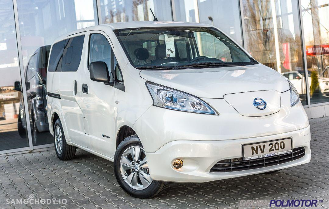 Nissan NV200 ELEKTRYCZNY Combi Tekna + Connect + 6.6 kW + French door 7