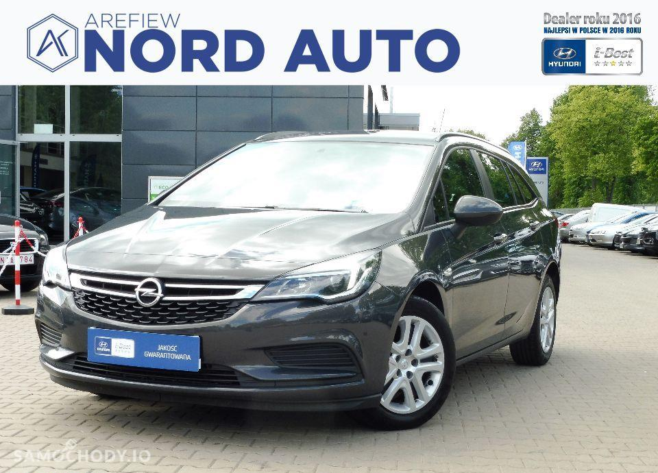 Opel Astra Enjoy 1.4T 125KM, faktura vat, krajowy 1