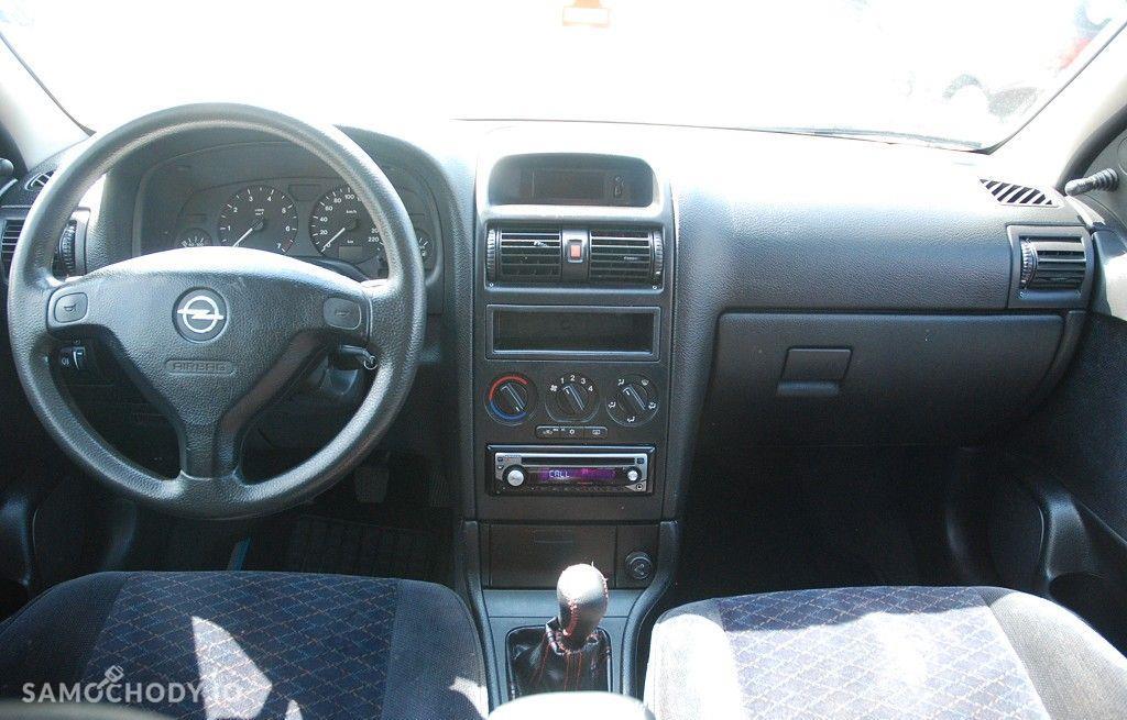 Opel Astra 1.6 benzyna w dobrym stanie technicznym i wizualnym z klimą, 56