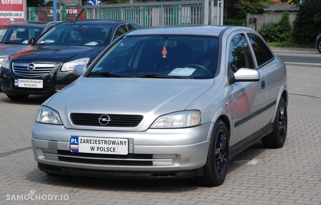Opel Astra 1.6 benzyna w dobrym stanie technicznym i wizualnym z klimą, 1