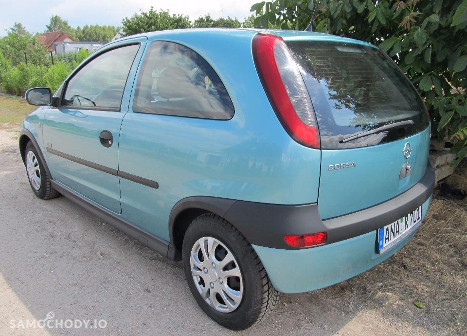 Opel Corsa Śliczna CORSA C 1.2 , tylko 104 tyś km , KLIMA, Opłacona z Niemiec 4