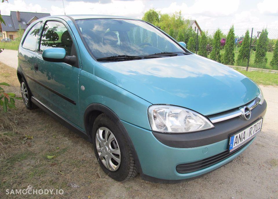 Opel Corsa Śliczna CORSA C 1.2 , tylko 104 tyś km , KLIMA, Opłacona z Niemiec 2