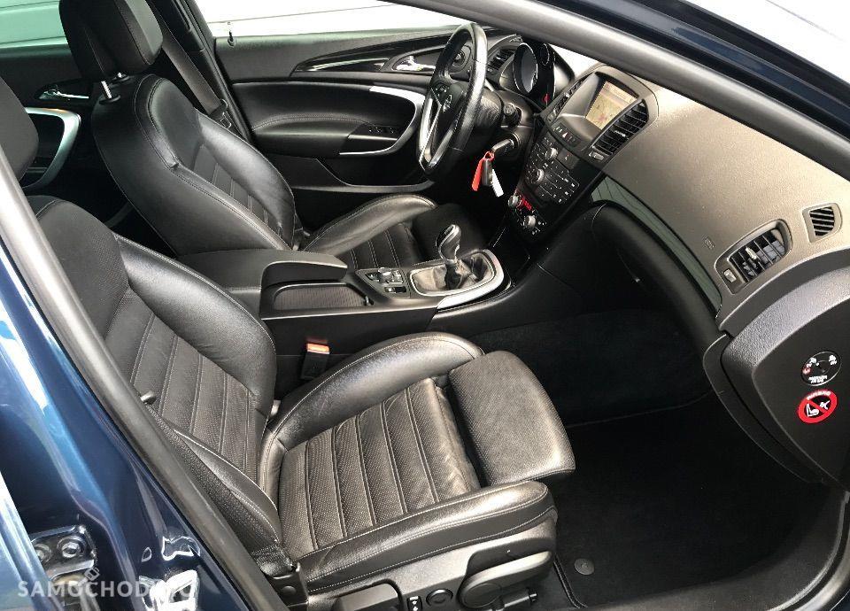 Opel Insignia OPC LINE Max Wyposaż Bezwypadek 100% w ASO Nowy Rozrząd Wentylow Fotel 29