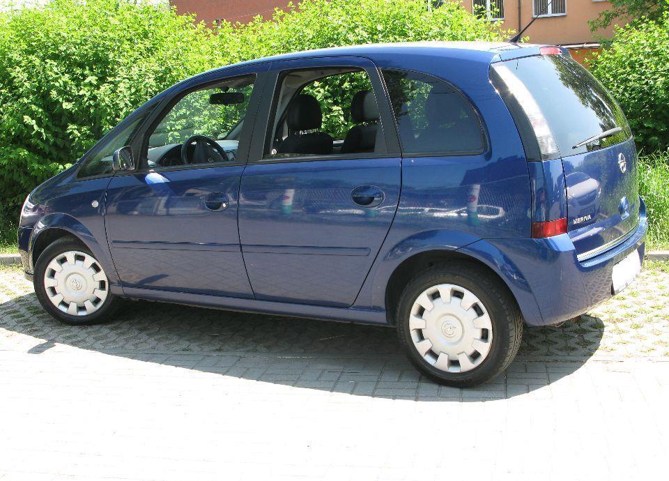 Opel Meriva 1,6 16v AUTOMAT 1właściciel serwis ASO Gwarancja 7