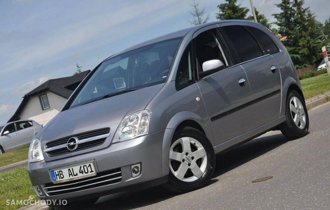 Opel Meriva 1.6 BENZ 101 KM ! Klimatyzacja, Automat, ALU ! 1
