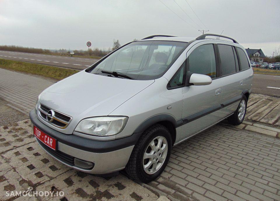 Opel Zafira 2.0 Diesel 7 foteli klima zadbany LIFT 1