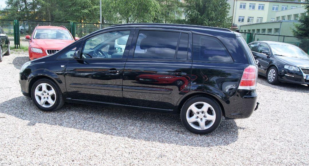 Opel Zafira 1.9CDTi/120KM! 7 osobowy! Nowy dwumas! 4