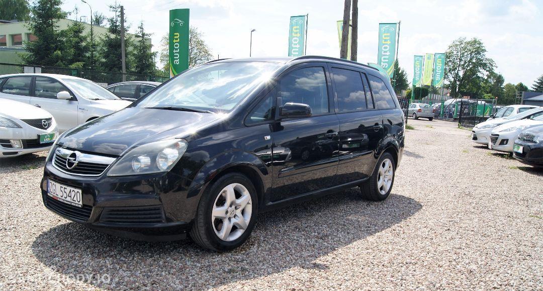 Opel Zafira 1.9CDTi/120KM! 7 osobowy! Nowy dwumas! 1