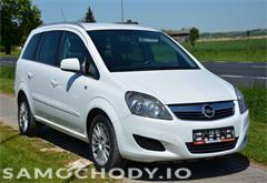 opel z województwa lubelskie Opel Zafira 1.6 Turbo*Cng*Klima*Alu*7Foteli*Euro5*Zobacz!!!