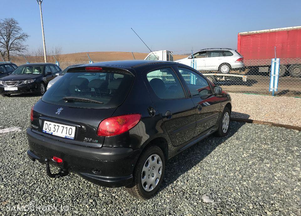Peugeot 206 1,4 HDI 68 KM Czarny Klima Elektryka Opłacony Zobacz !!! 29