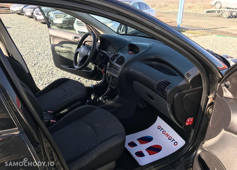 Peugeot 206 1,4 HDI 68 KM Czarny Klima Elektryka Opłacony Zobacz !!! 106